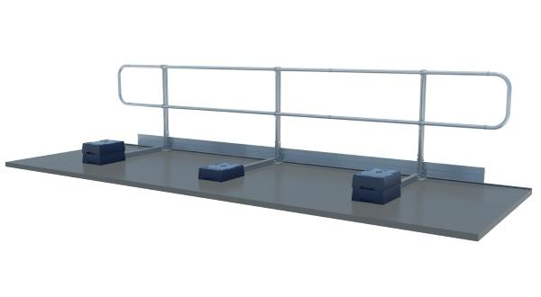 freestanding guardrail by XSPlatforms US market
