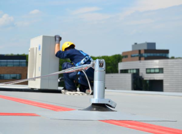 work at height airconditioning units