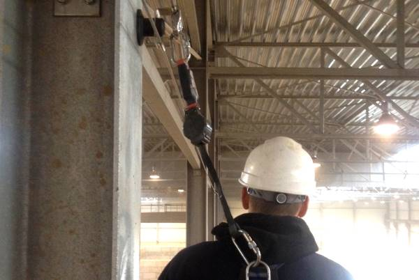 fall arrester work at height industry