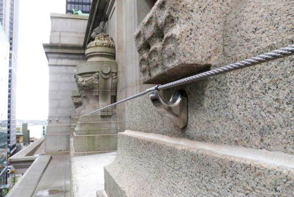 new york wall straat fall protection system