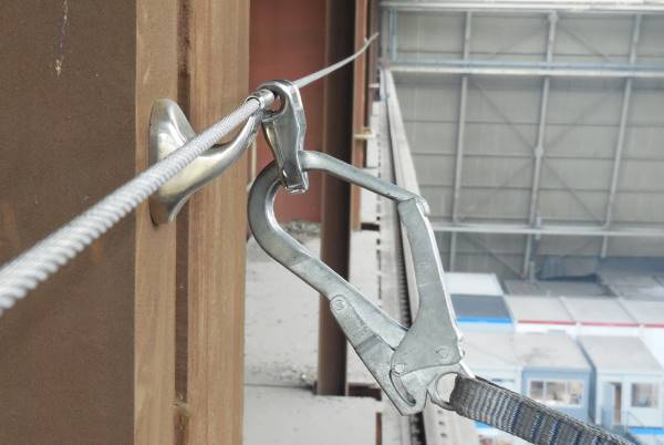 lifeline and connector fall protection