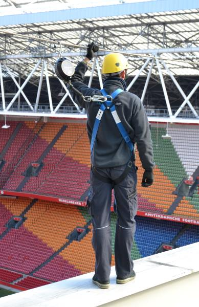 fall protection on height