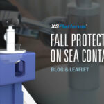 Fall protection on shipping containers