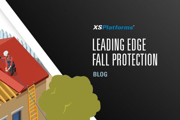 Fall protection for leading edge work