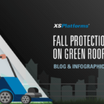 Fall protection systems on green roofs